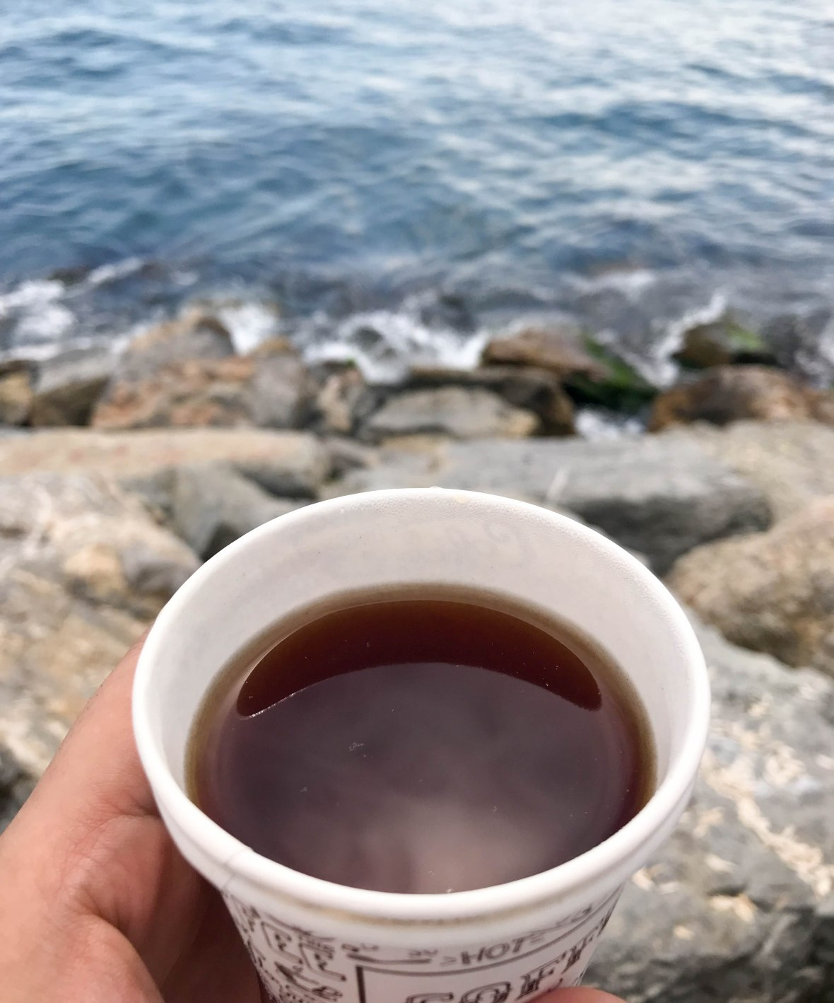 tea at the coast, istanbul, turkey