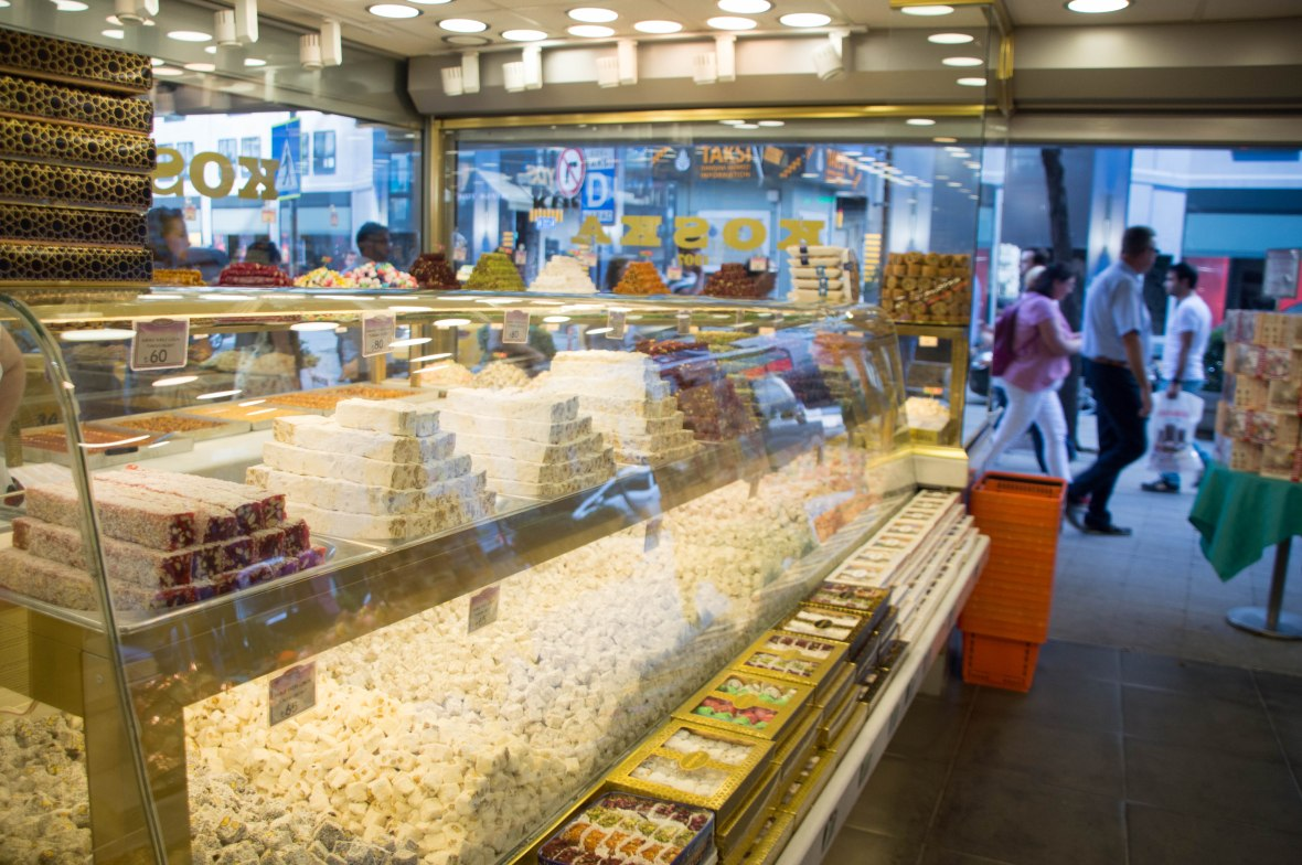 turkish delights, koska, istanbul, turkey