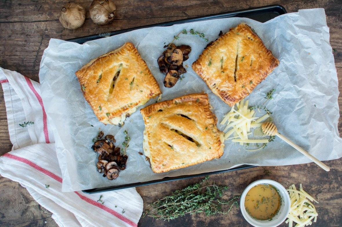 Cheese And Mushroom Pasties - Kay's Kitchen