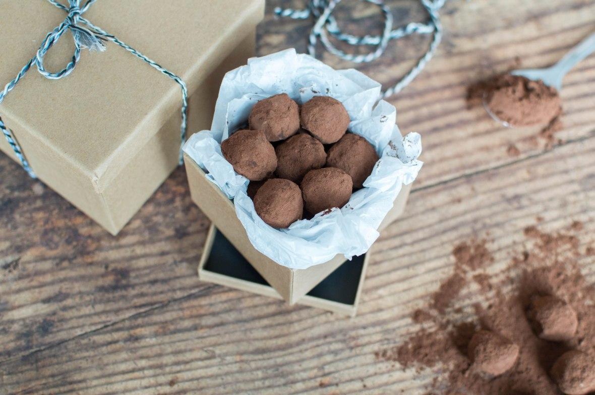Dark Chocolate Truffles Recipe - Kay's Kitchen