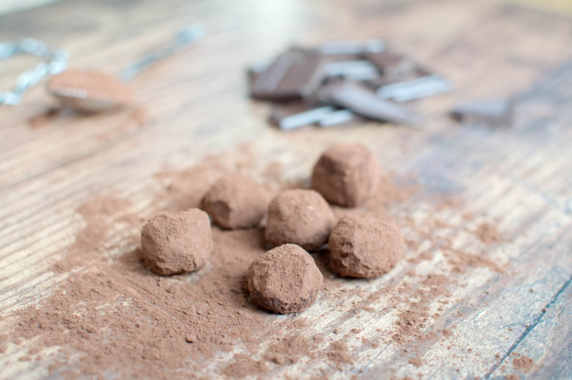 Homemade Chocolate Truffles - Kay's Kitchen