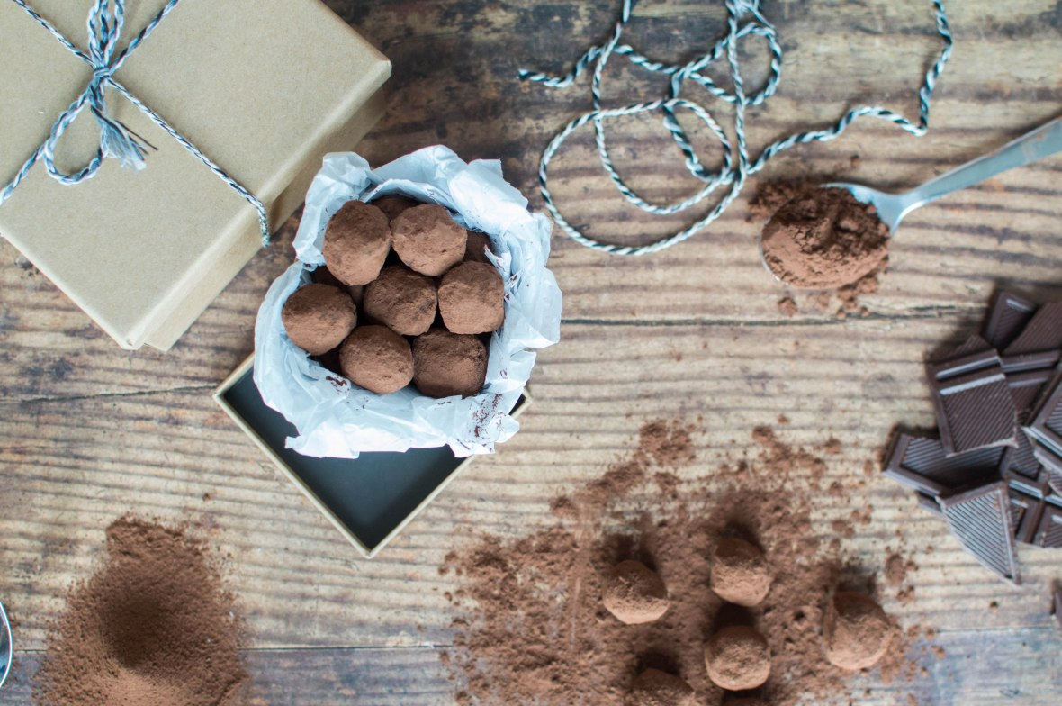 Homemade Chocolate Truffles Recipe - Kay's Kitchen