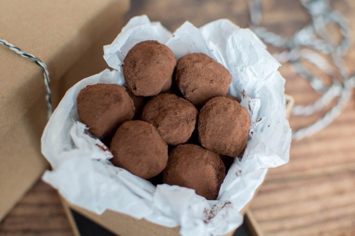 Homemade Dark Chocolate Truffles - Kay's Kitchen