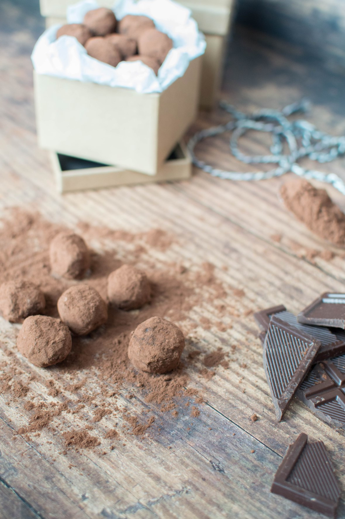 Recipe For Dark Chocolate Truffles - Kay's Kitchen