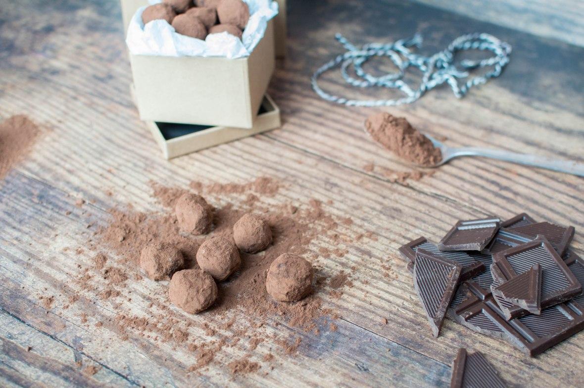 Recipe For Homemade Chocolate Truffles - Kay's Kitchen