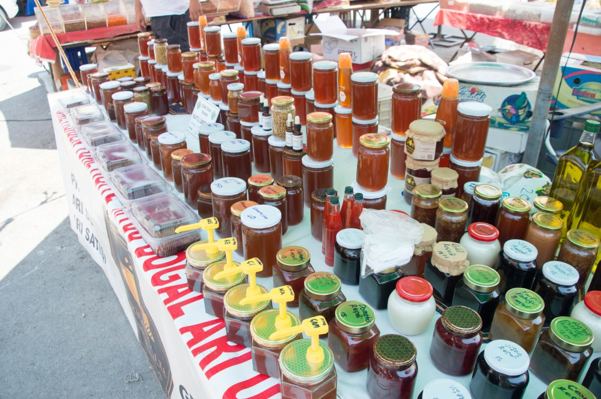 Honey, Alaçatı Market, Turkey