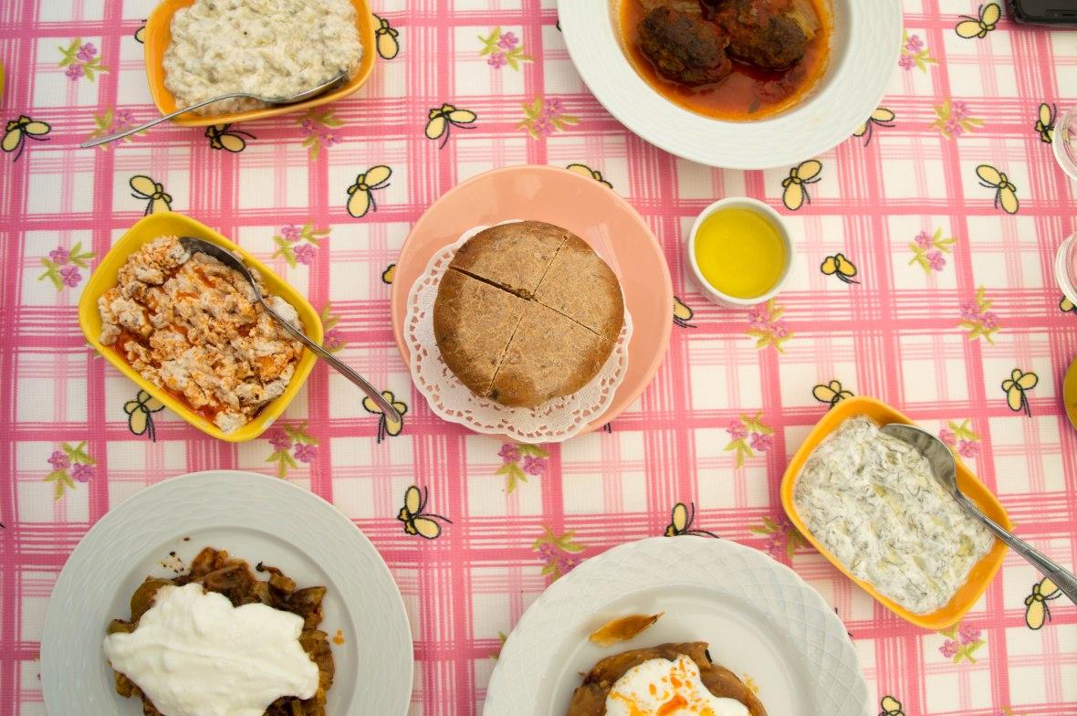 Lunch, Kabak Çiçeği, Alaçatı, Turkey
