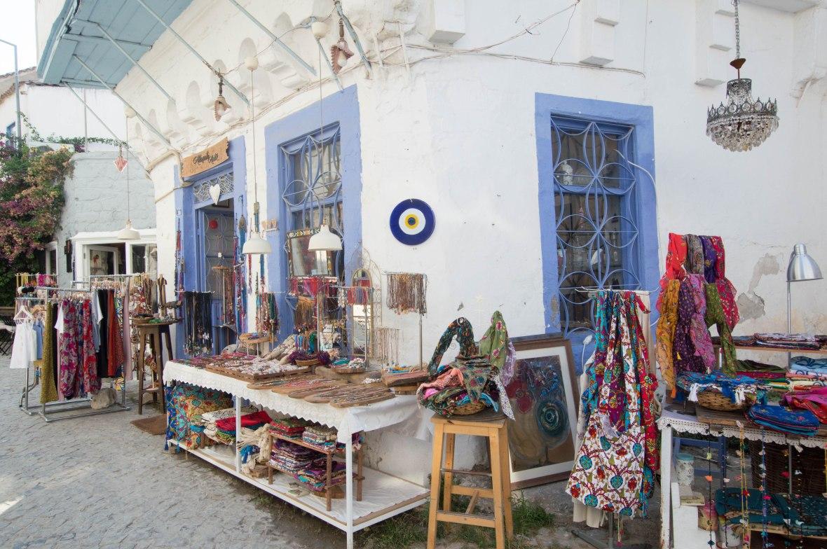 Market Stalls, Alacati, Turkey