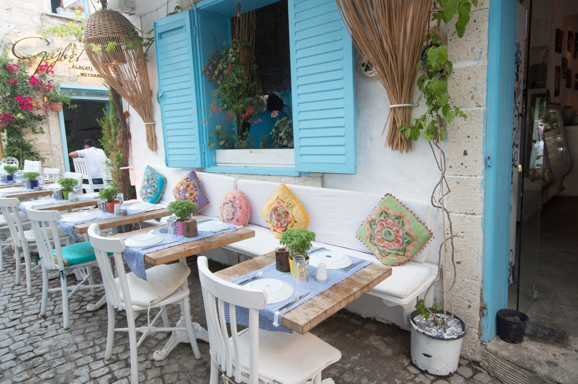 Pretty Little Restaurants, Alacati, Cesme, Turkey