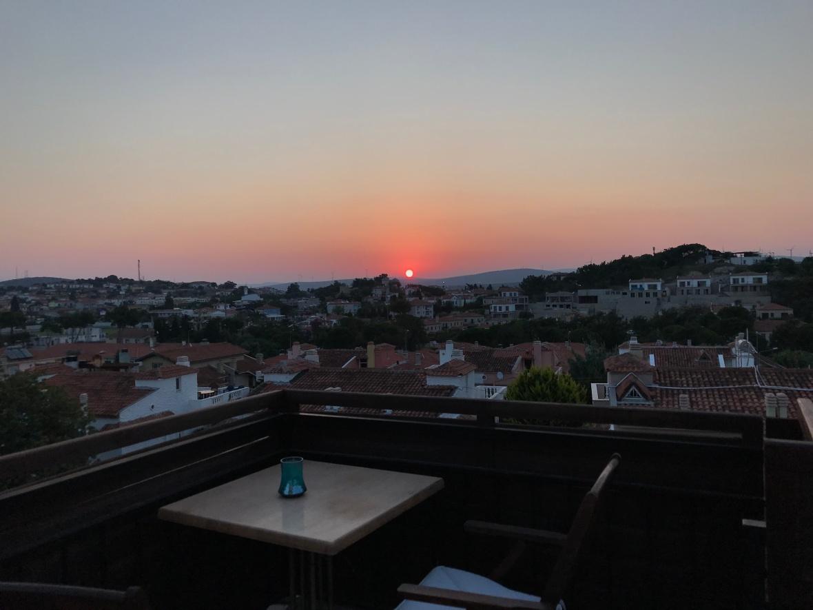 Sunrise, Alacati Yamac Evi Hotel, Alaçatı, Turkey