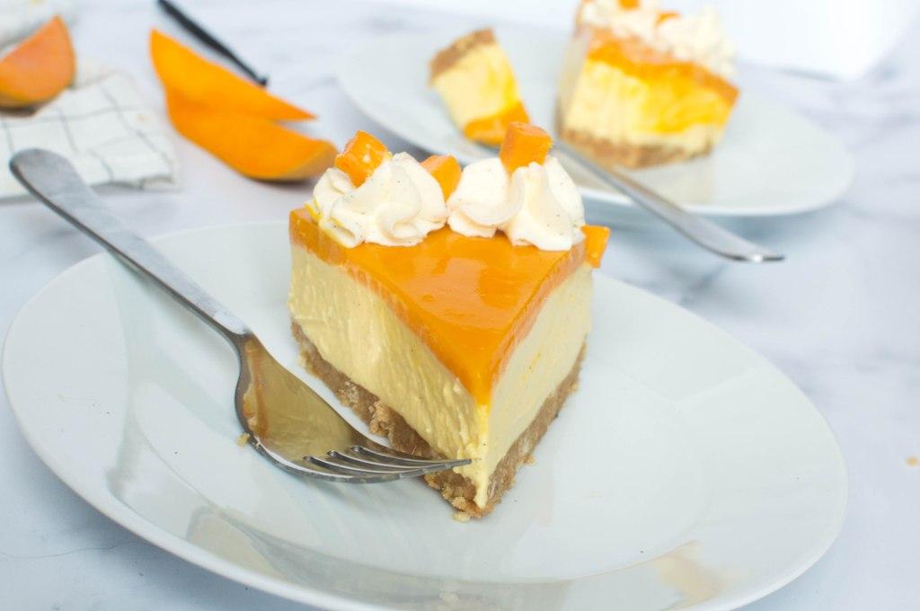 No Bake Mango Cheesecake - Kay's Kitchen