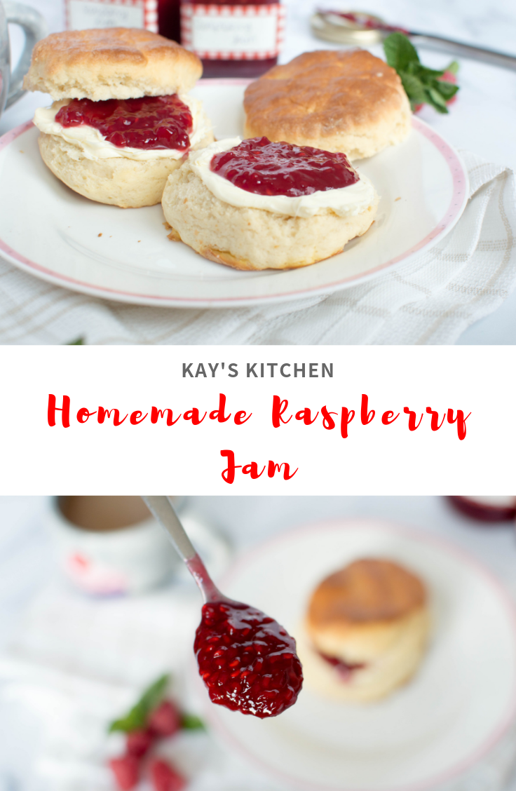 Homemade Raspberry Jam - Kay's Kitchen