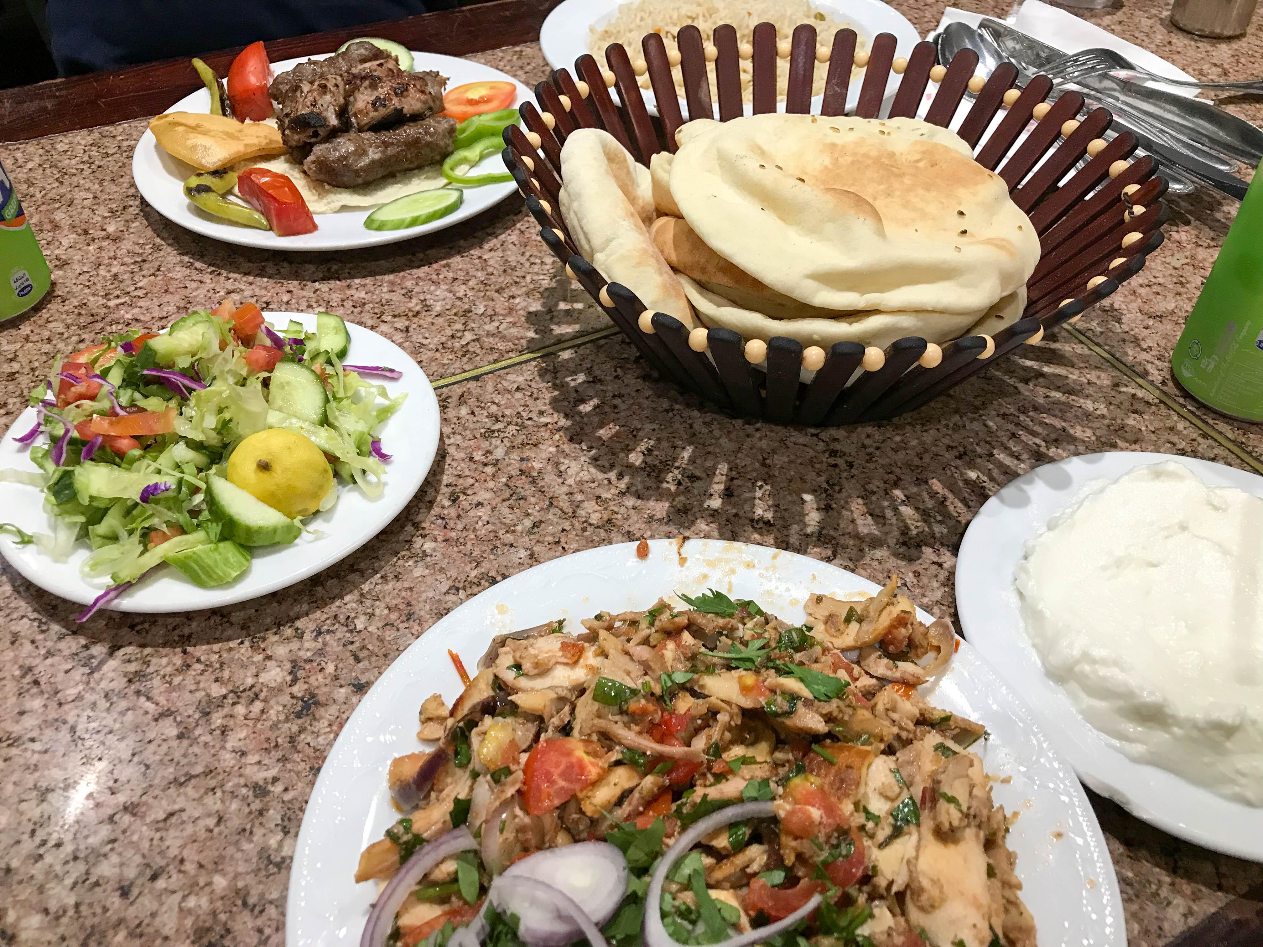 Kebab, Gad Restaurant, Cairo, Egypt