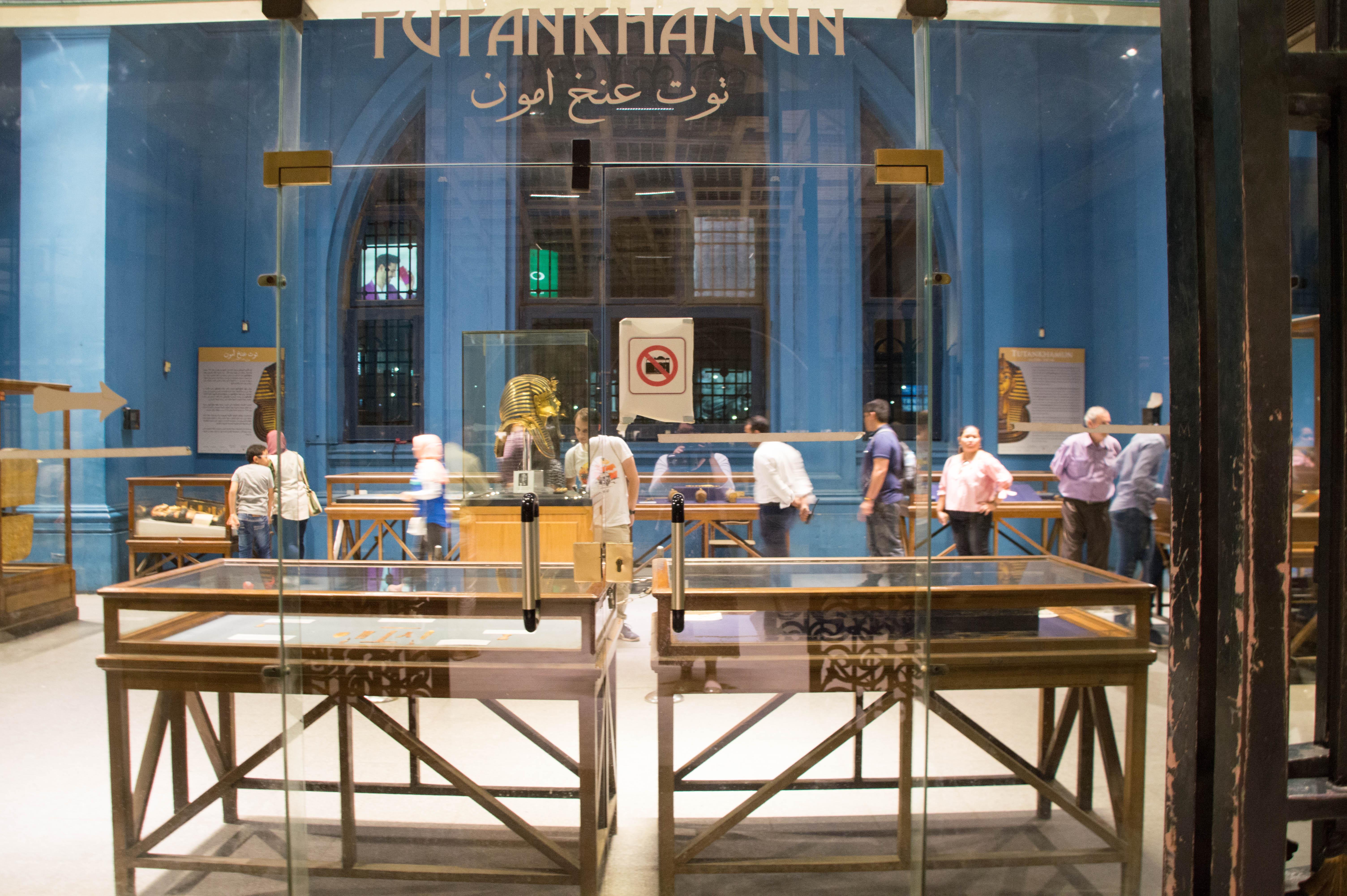 Tutankhamun Exhibit, Egypt Museum, Cairo