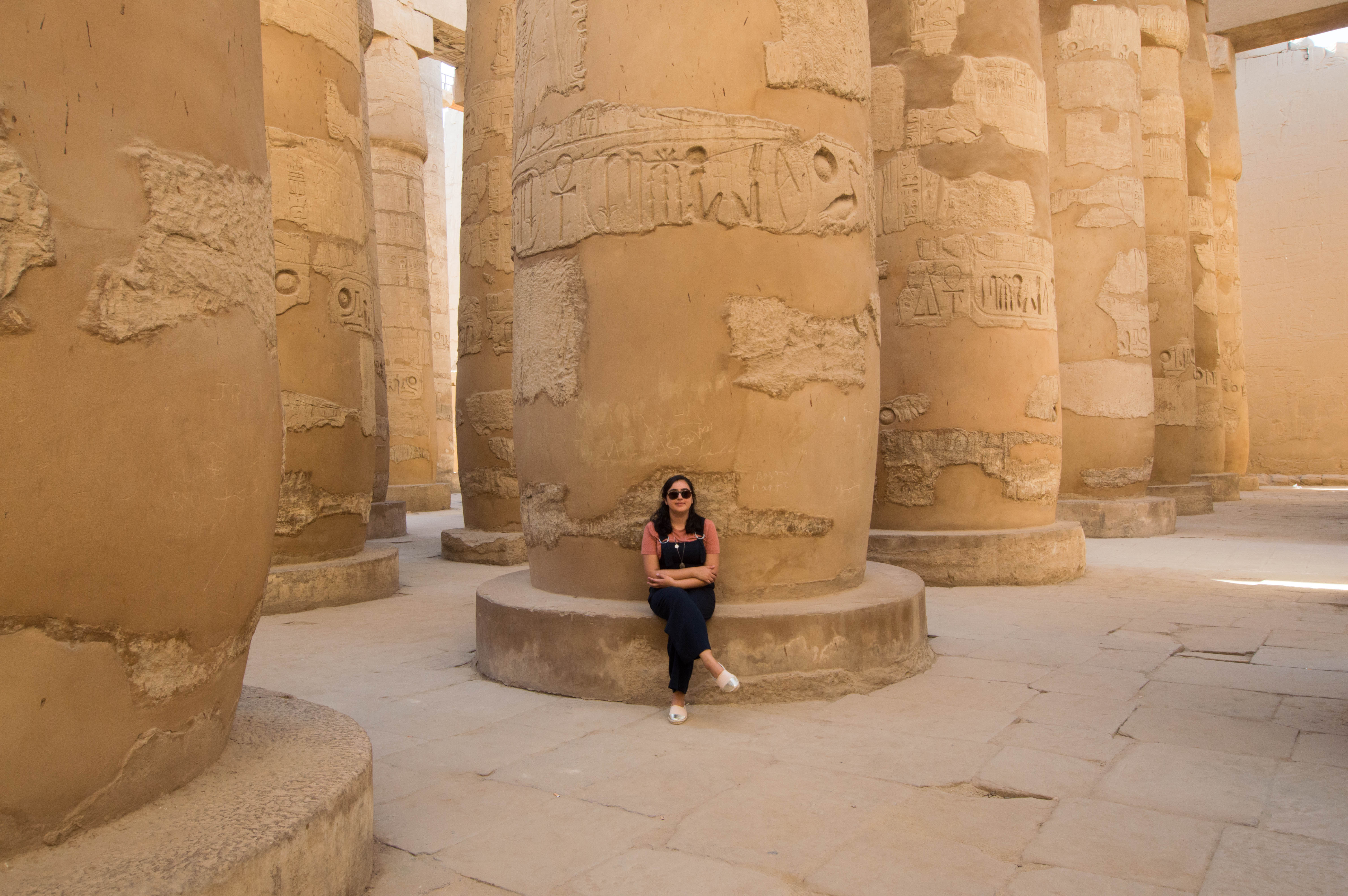 Me In The Hypostyle Hall, Karnak Temple, Luxor, Egypt
