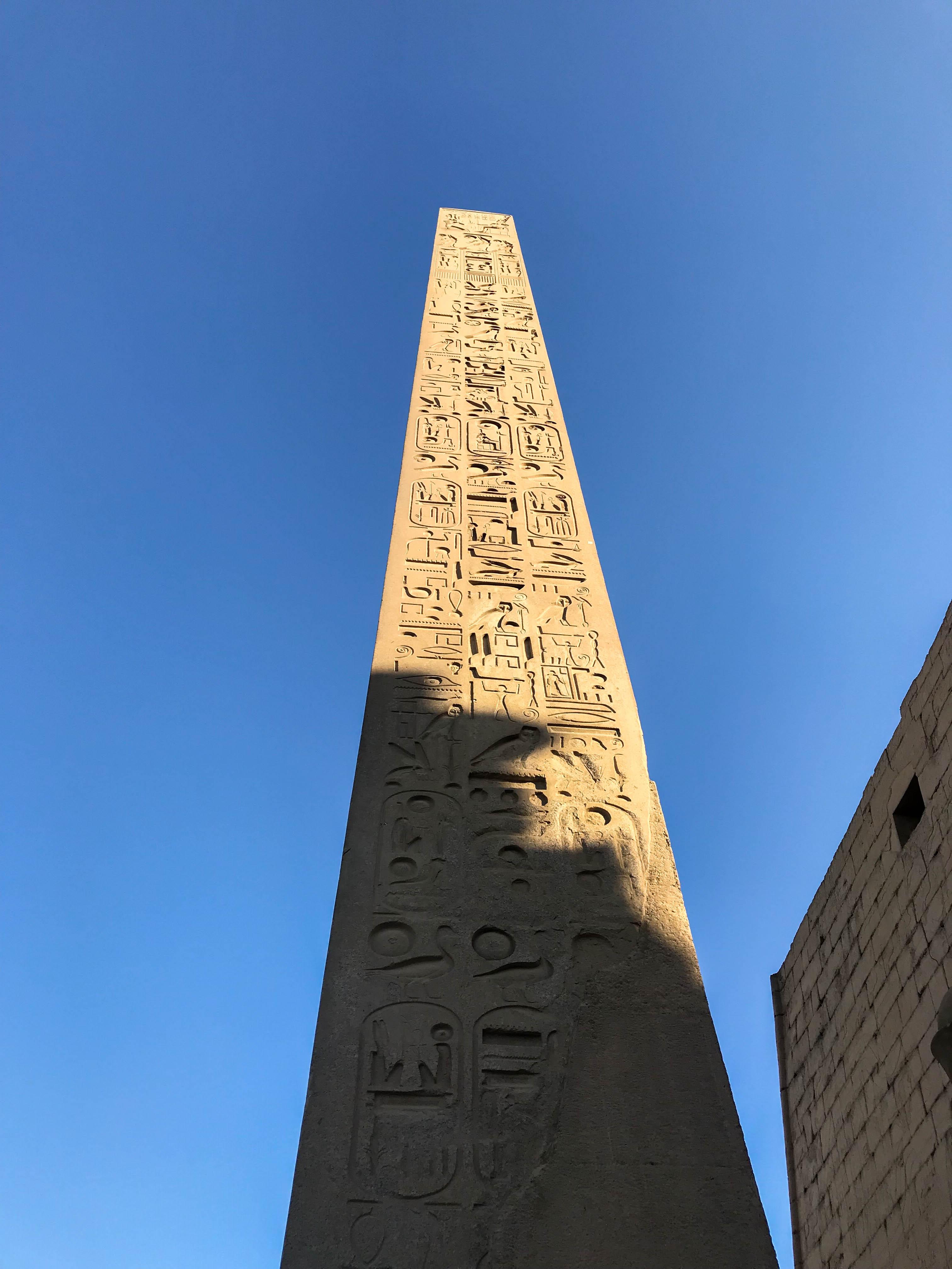 Obelisk, Luxor Temple, Egypt
