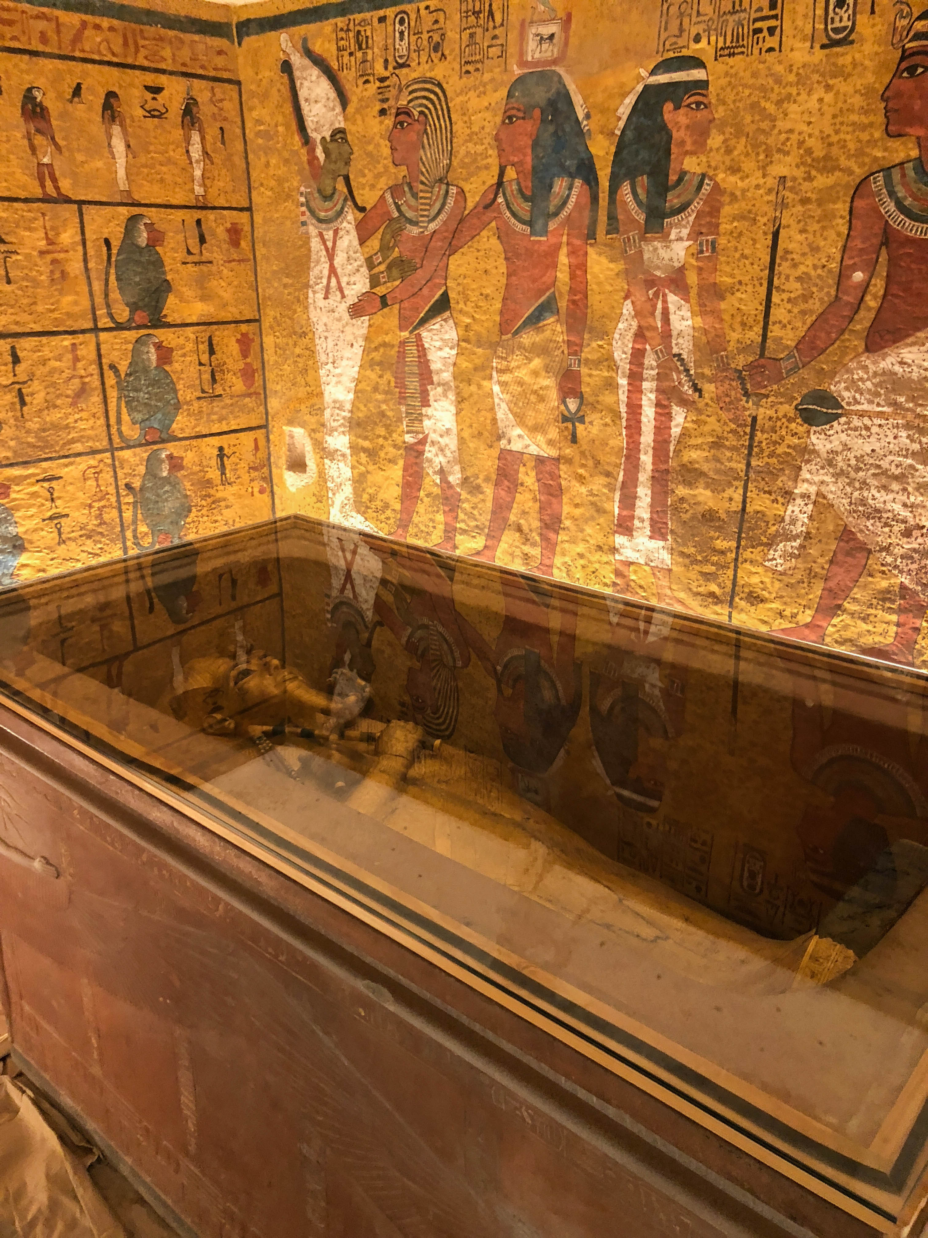 Tutankhamun's Tomb, Valley of The Kings, Luxor, Egypt