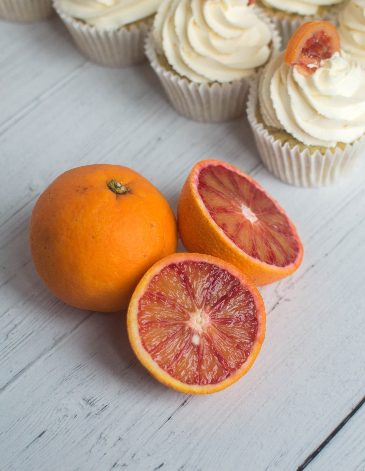 Blood Orange Cakes - Kay's Kitchen