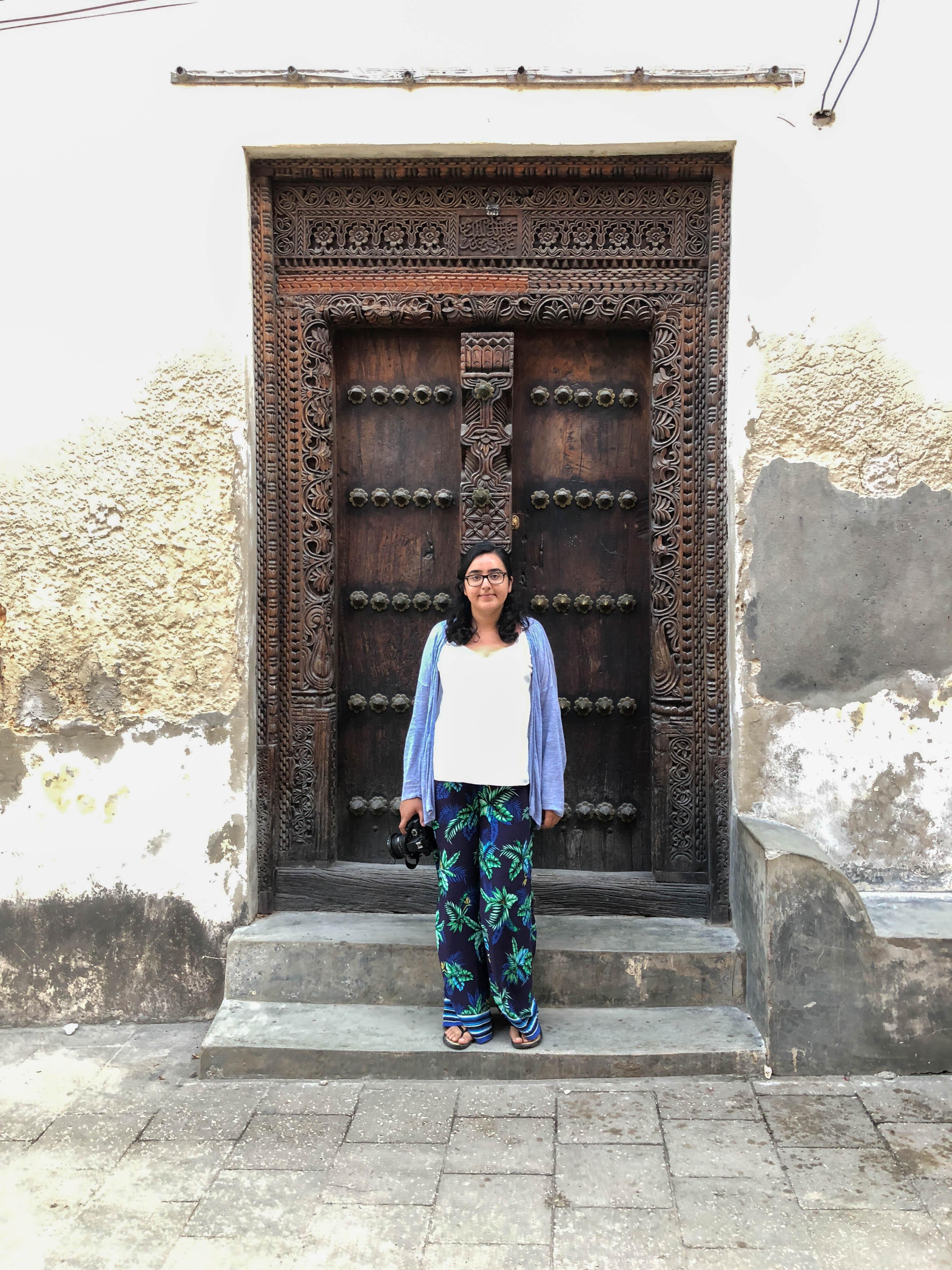 Doors Of Stone Town, Zanzibar, Tanzania