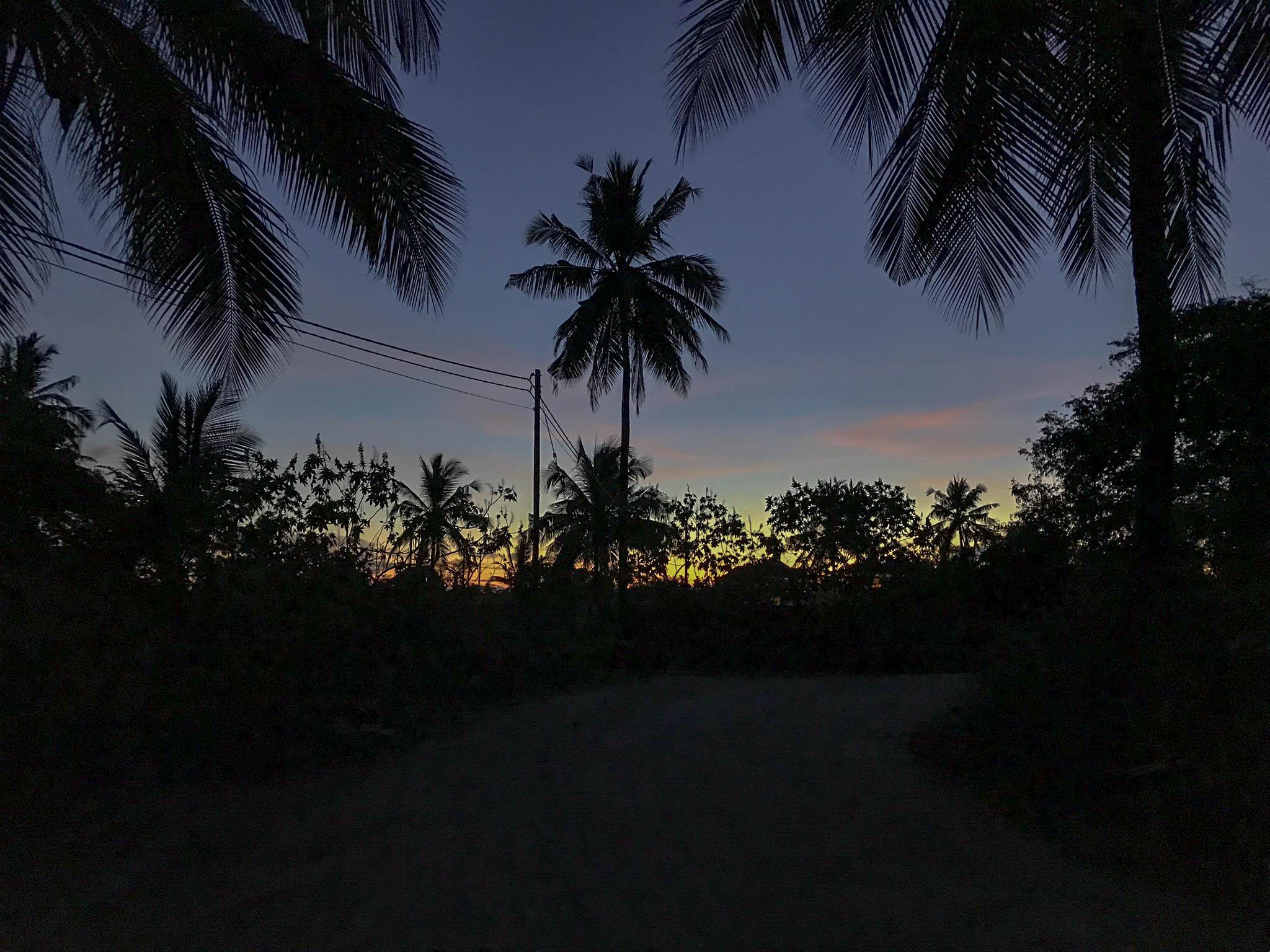 Sunset, Zanzibar, Tanzania