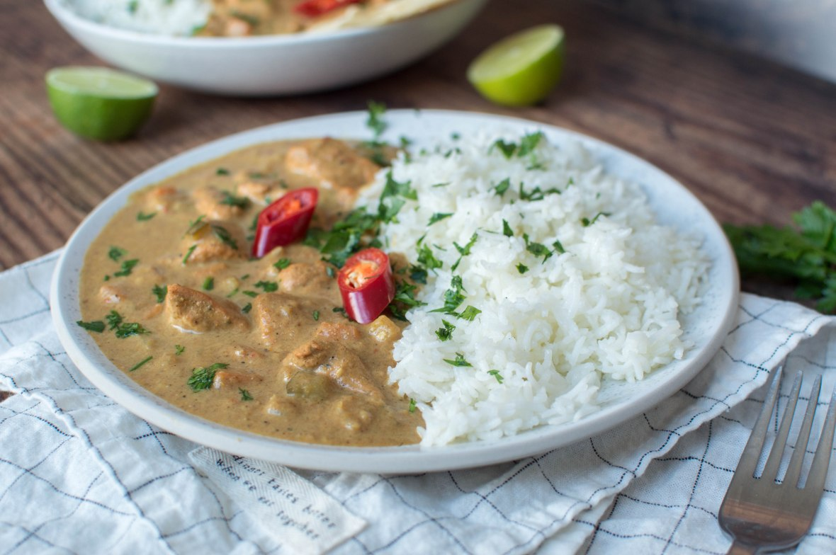 Swahili Chicken Curry With Rice - Kay's Kitchen