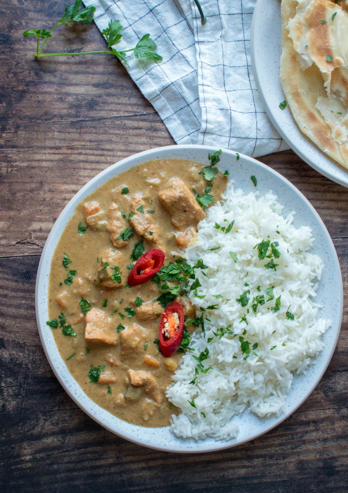 Zanzibar Chicken Curry With Rice - Kay's Kitchen