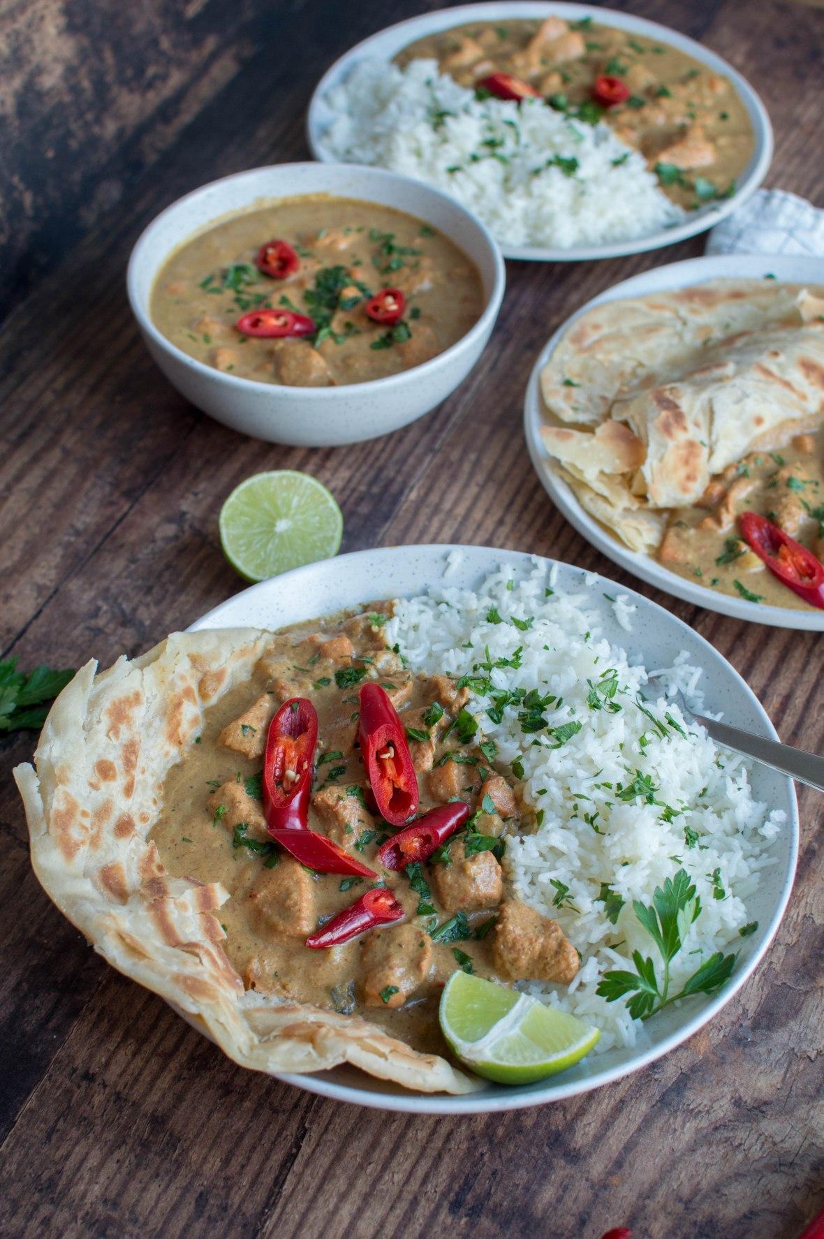 Zanzibar Coconut Chicken Curry - Kay's Kitchen