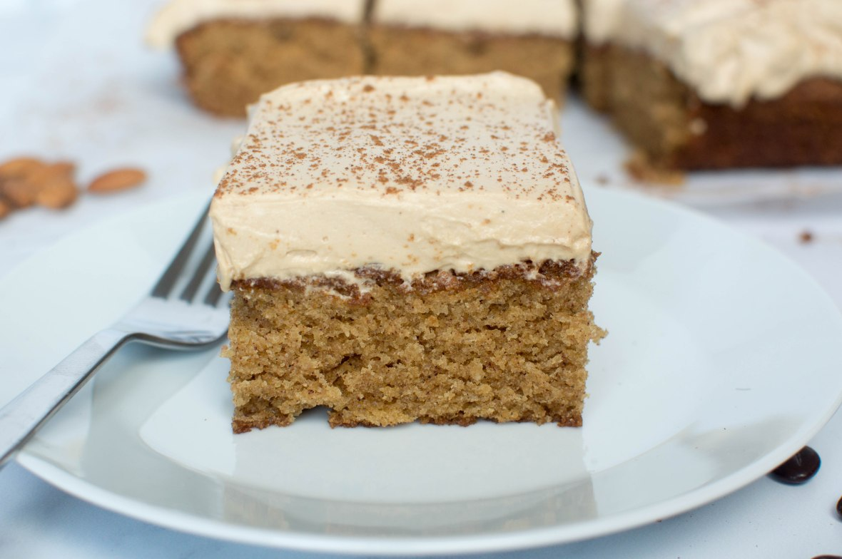 Almond, Coffee And Cinnamon Cake - Kay's Kitchen