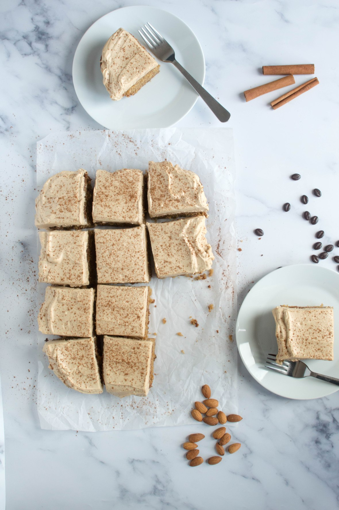 Almond & Coffee Cake With Cinnamon - Kay's Kitchen