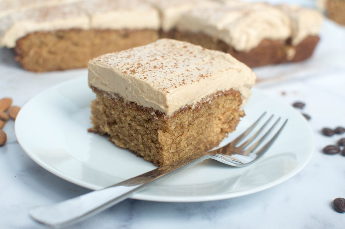 Slice Of Almond, Cinnamon And Coffee Cake - Kay's Kitchen